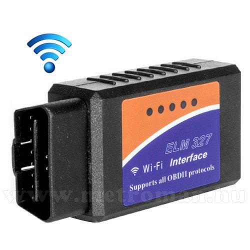 OBD2 WIFI autó diagnosztikai műszer, hibakód olvasó/törlő Mlogic ELM327 WIFI