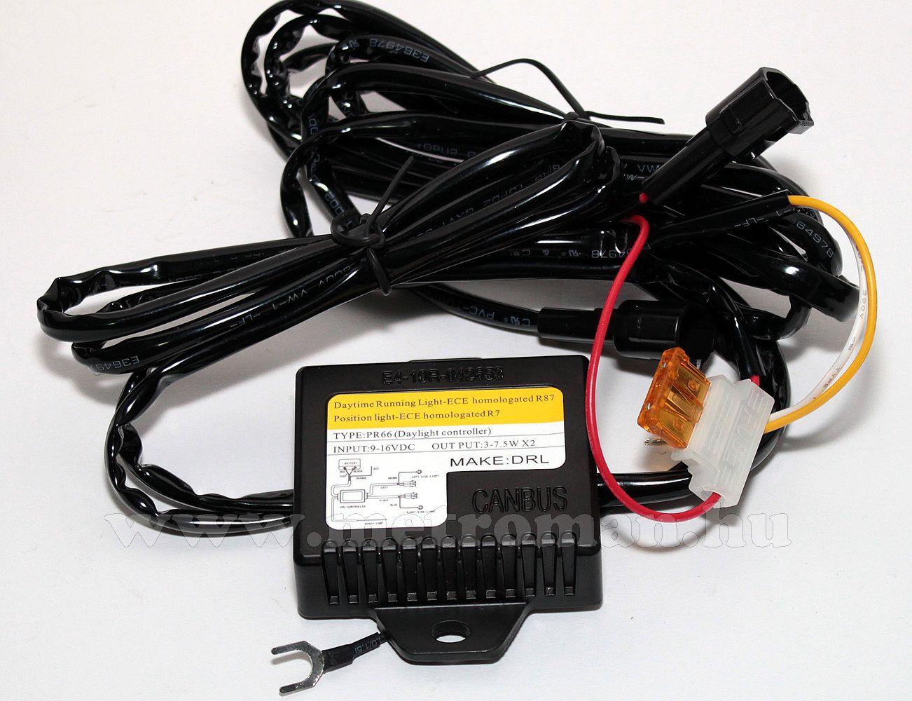Nappali menetfény LED, DRL, E jeles, M-Tech 902HP