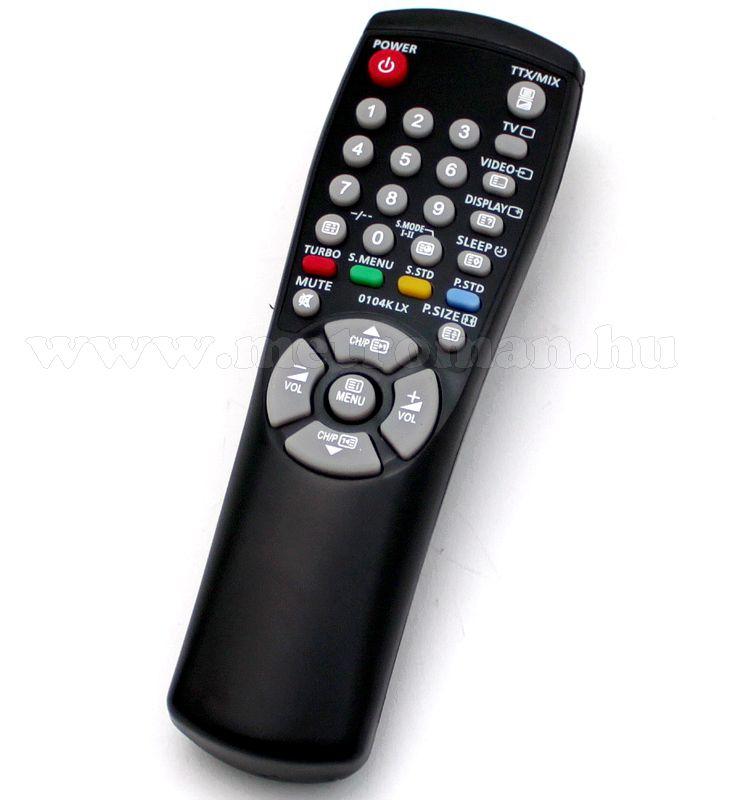 Utángyártott TV távkapcsoló,Samsung 00104K