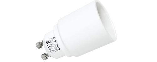 E27/GU10 Foglalat átalakító adapter