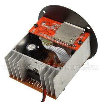 Beépíthető USB/SD MP3 modul, beépített erősítővel, távirányítóval, Mlogic MP3-4115