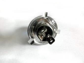 Emelt fényű, halogén izzó, H4 60 / 55 Watt, 5500 K