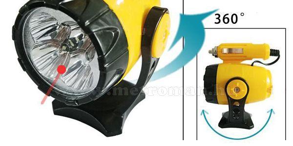 Autós mágneses mini LED lámpa HK-702