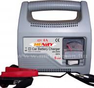 Autó akkumulátor töltő, 12 V/ 4 Amper, Henry BCP1204