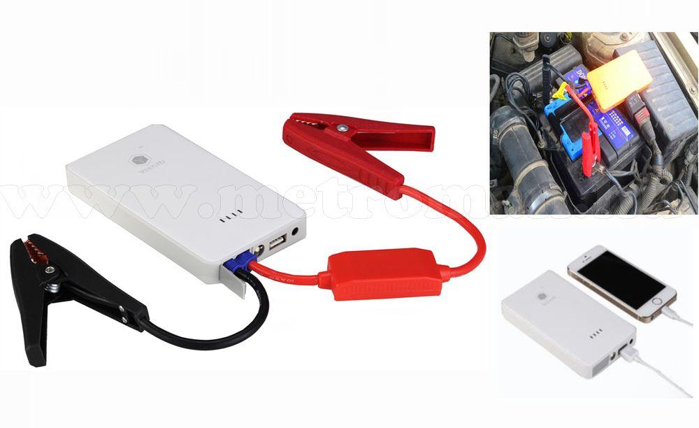 Autós indításrásegítő, hordozható gyorsindító, bikázó, SmartBox5
