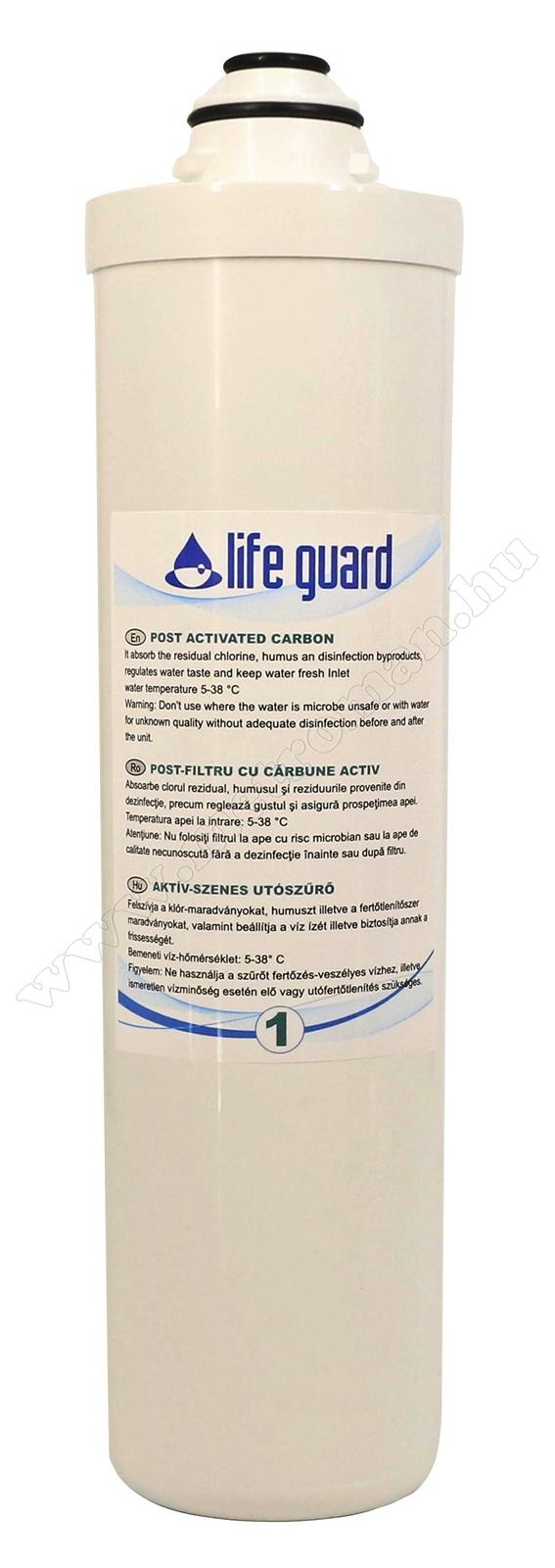Aktív szénszűrő Life Guard ivóvíz utótisztítóhoz 77900-1