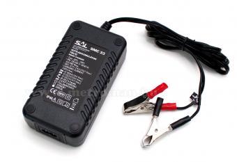 Intelligens automata akkumulátor töltő, csepptöltő, 12 V/3.3 A SAL SMC 33