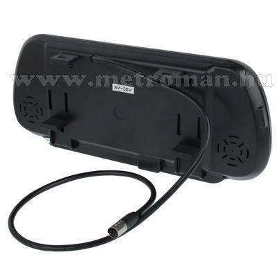 "Autós 7"" LCD tükör monitor, Mlogic MM-0110"