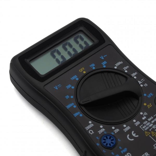 Mérőműszer, digitális multiméter, DT-820D