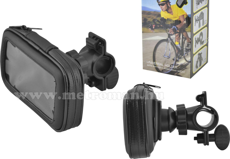 Kerékpáros, motoros telefon, iPhone 4/5 tartó, MF15