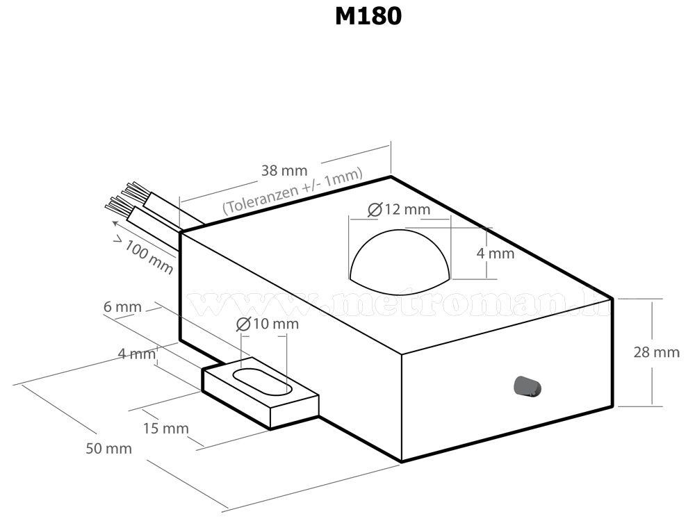 Ultrahangos , autós nyestriasztó  , Kemo M180N
