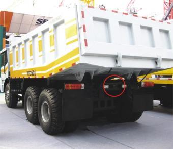 Kamion, teherautó, targonca, munkagép ipari  tolatókamera szett, 2 kamera + LCD PVST 702C