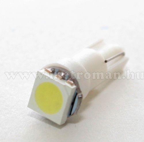 Autó műszerfal LED izzó, T5 SMD5050