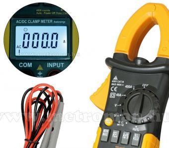 Professzionális Lakatfogó, Digitális multiméter, SMA 2101