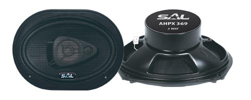 Autó hangszóró, nagy ovál, SAL AHPX 369