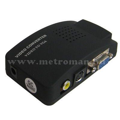 Video / VGA átalakító, Konverter, Mlogic PC-0964