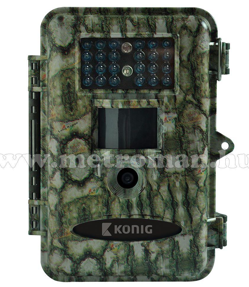 Mobil rejtett kamera beépített SD kártyás DVR felvevővel, König DVRODR21