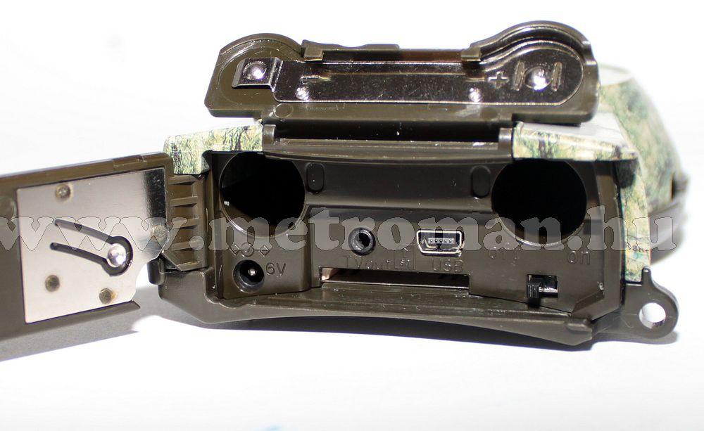 Mobil rejtett kamera beépített SD kártyás DVR felvevővel, König DVRODR11
