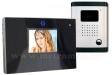 Színes multi funkciós video kaputelefon szett, DF-629TS+OUT9