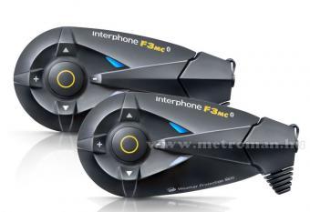 Motoros Bluetooth bukósisak kihangosító és headszett, InterPhone F3MC Twin Pack