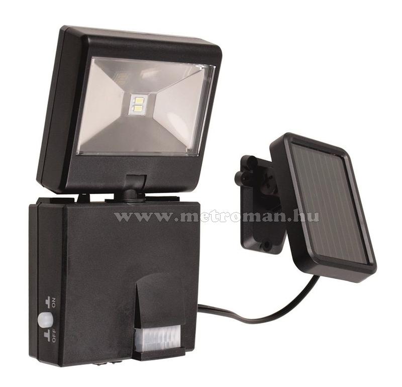 Napelemes LED reflektor szett, Szolár fényvető,1 Watt, mozgásérzékelővel