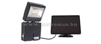 Napelemes LED reflektor szett, Szolár fényvető, 6 Watt, mozgásérzékelővel