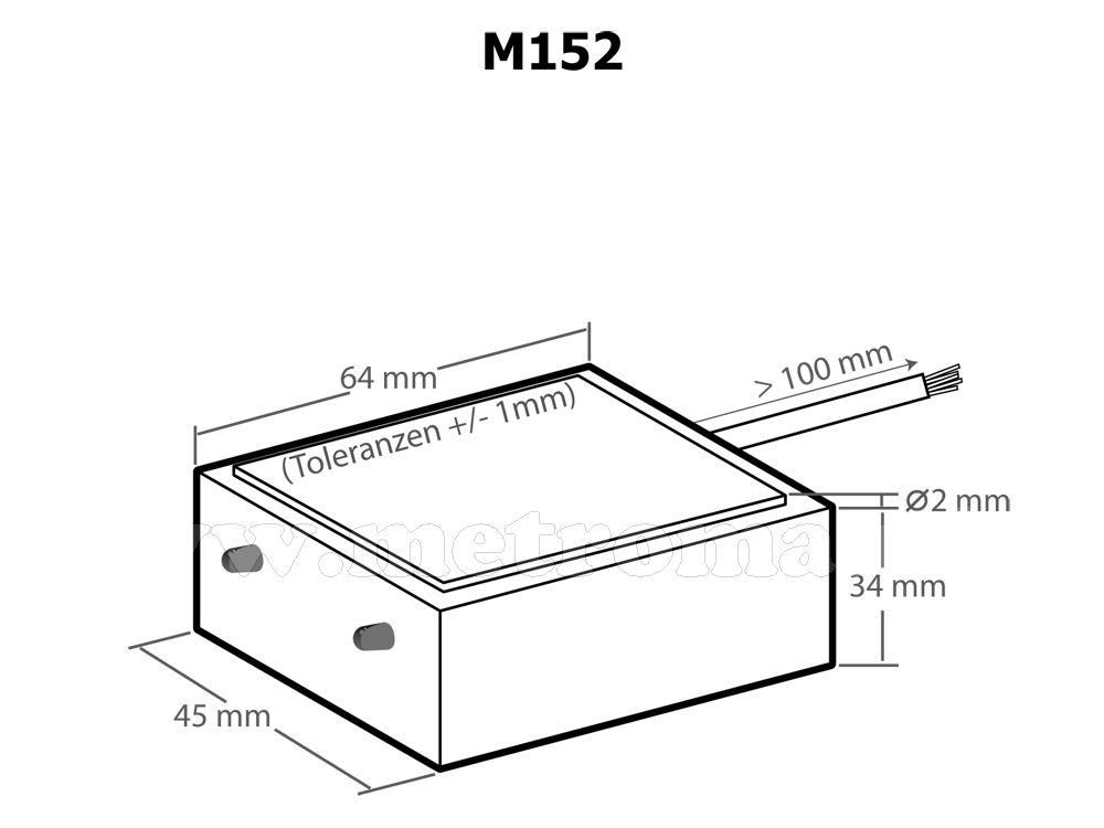 Esőérzékelő, esőkapcsoló elektronika Kemo M152