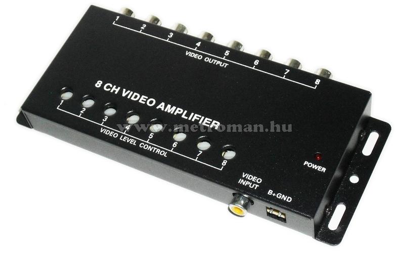 """Fejtámlába épített 7""""-os TFT-LCD monitor, JVJ HR7817MP5 Szürke"""