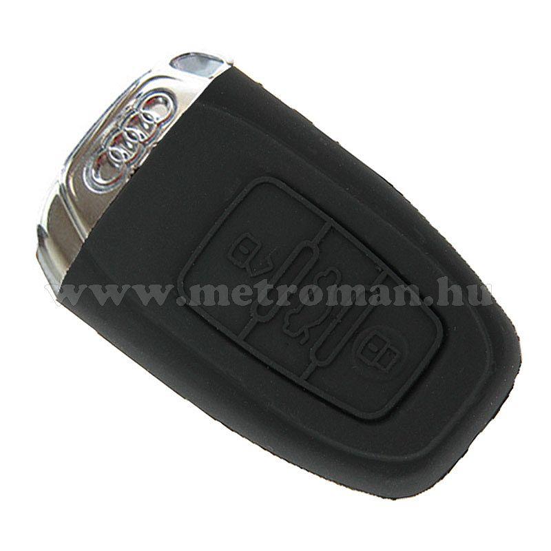 Szilikon védő tok, autó slusszkulcsra, Audi A4L, A5, Q5, S5, A8L MM1115