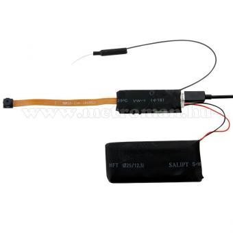 Extra Mini, Rejtett, Beépíthető SD kártyás DVR Wifi P2P IP biztonsági megfigyelőkamera, Mlogic MM-2758