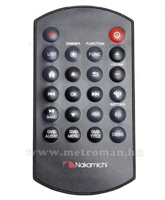 DVD/USB/SD MP3 Navigációs multimédia autórádió, 6,2