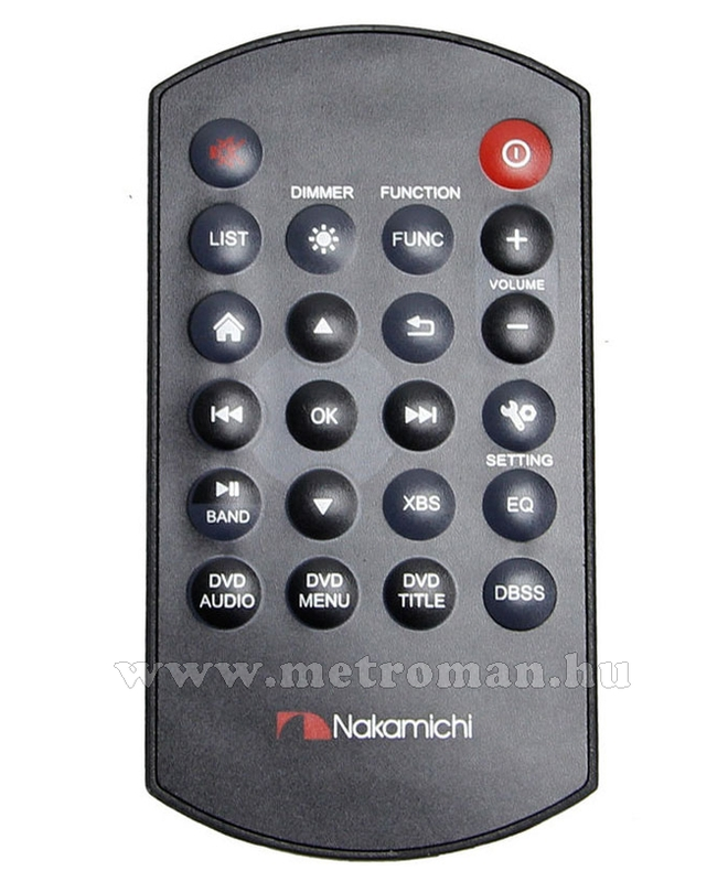 "DVD/USB/SD MP3 multimédia autórádió, 6,2"" LCD-vel, Nakamichi NA1600"