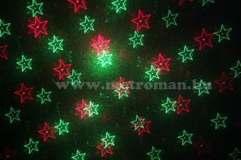 Diszkó fény, Lézer karácsonyi fényeffekt, DL XMS