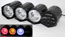 LED disco fényorgona beépített mikrofonnal LINKLED10