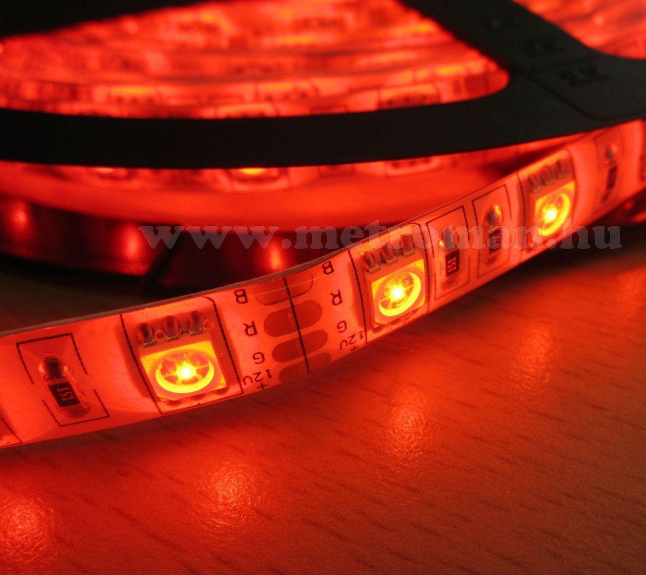 RGB színváltós, távirányítós LED szalag, 5 méter M0496