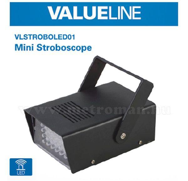 Házibuli, Diszkó, LED Stroboszkóp VLSTROBOLED01