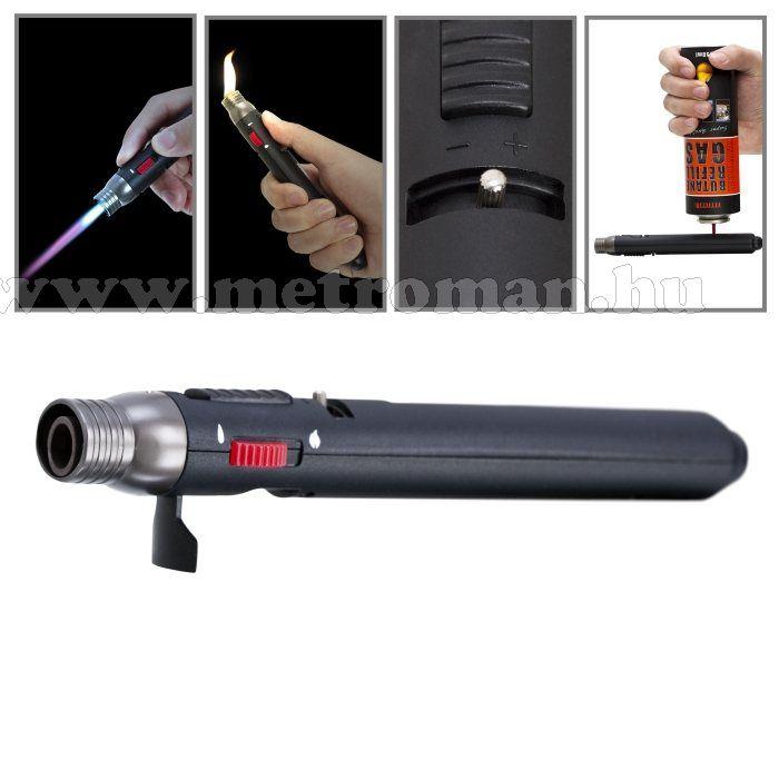 Gázforrasztó ceruza, öngyujtó gázzal tölthető, Fahrenheit 28098
