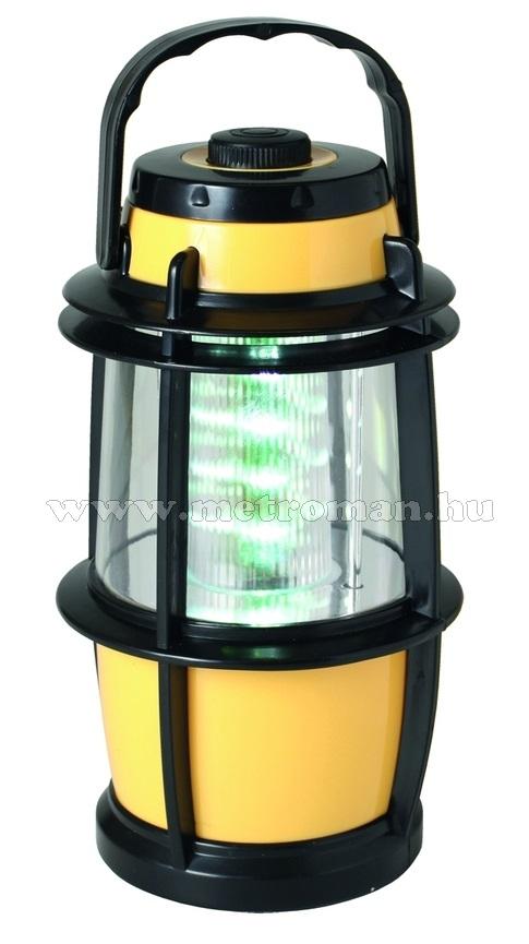 LED-es kempinglámpa, 16 LED-es, CL 16L