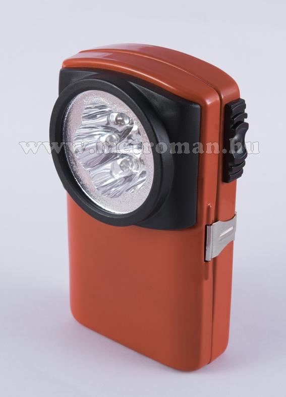 LED-es fémházas kézilámpa, OL 5 LED