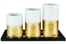 LED-es viaszgyertya szett, CDW 3