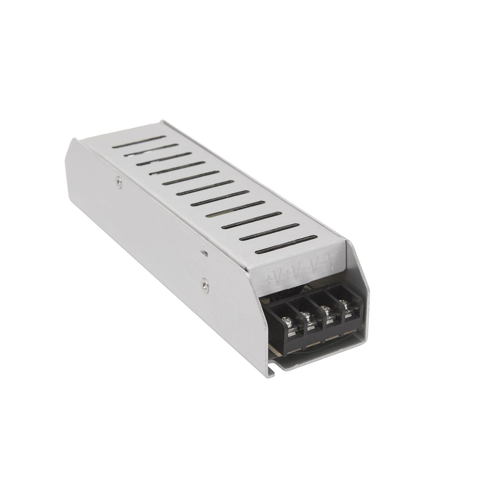 Fémházas, beépíthető, ipari tápegység 230/12 V 10 Amper
