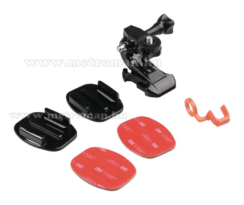 Sisakra szerelhető rögzítőkészlet akciókamerákhoz, CL-ACMK10