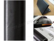 Autó fólia, 3D fekete Karbon fólia, 1,27 x 30 méter