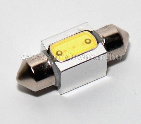 Autós szofita LED izzó, COB LED, 31MM3WPOWER