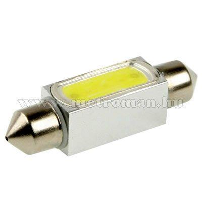 Autós szofita LED izzó, COB LED, 39MM3WPOWER
