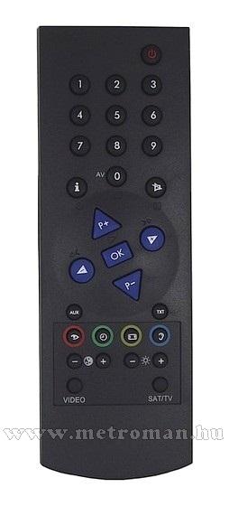 Utángyártott TV távirányító, Grundig TP 750