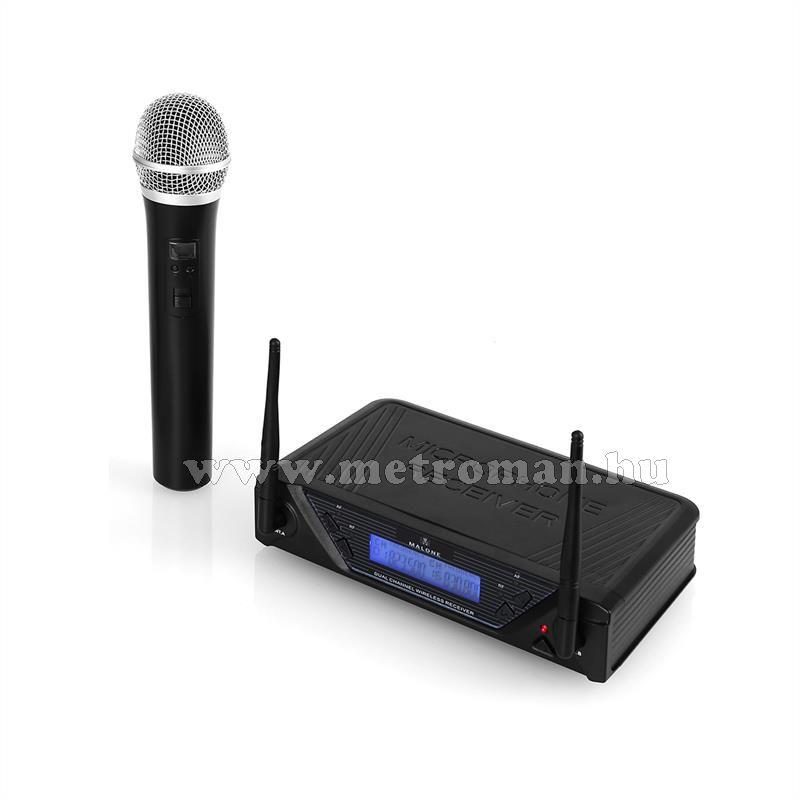 Vezeték nélküli mikrofon szett, Malone UHF-350