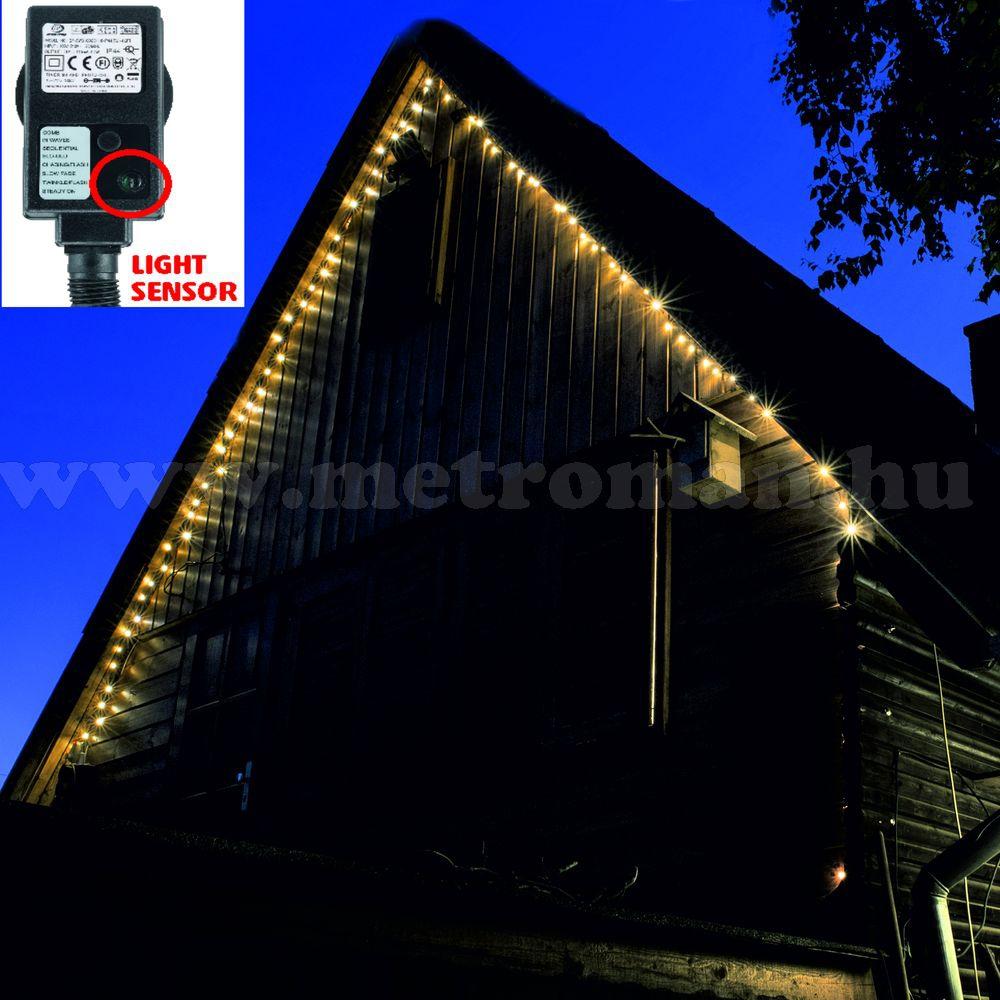 Karácsonyi kültéri LED égősor, Fényfüzér, KTL 108/WW Meleg Fehér