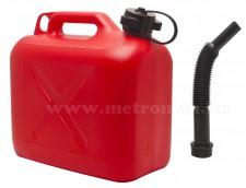 Üzemanyagkanna kiöntőcsővel, 5 Literes