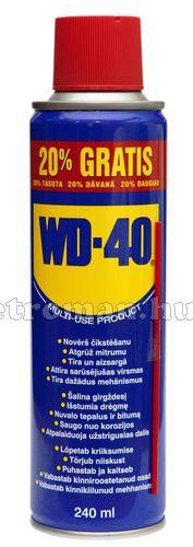 Univerzális kenő, védő, kontaktjavító és tisztító Spray WD-40 240 ml